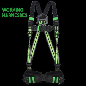 Working Fall Arrest Full Body Harnesses
